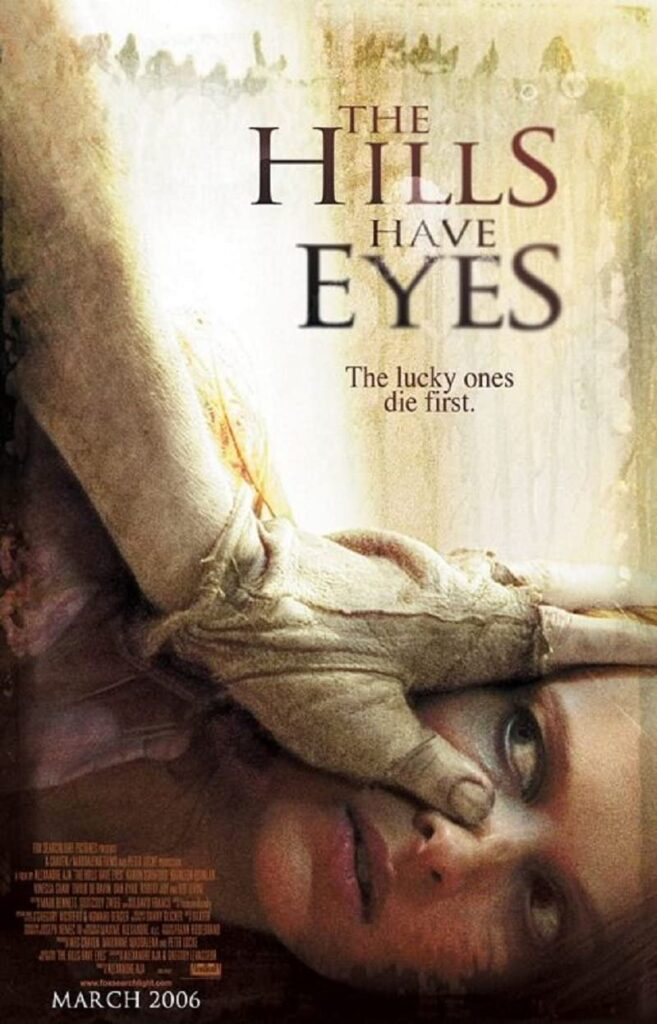 The Hills Have Eyes movie poster