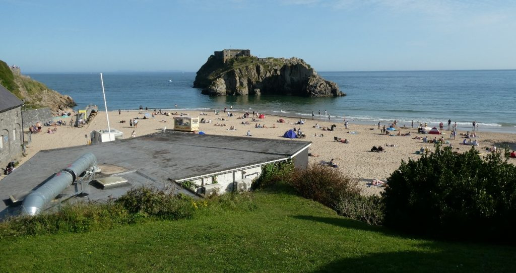 Castle Beach and St. Catherine's Island, Tenby