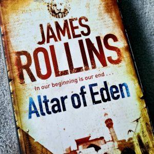Cover of paperback Altar of Eden book