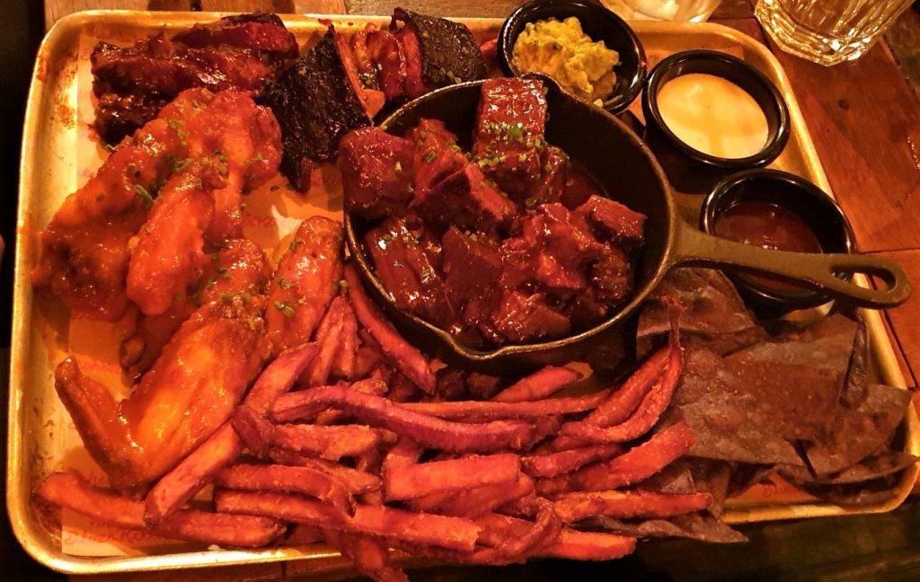 The Blues Kitchen meat platter