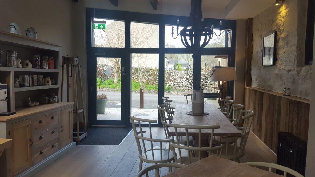Lobby of Lister Barn accommodation in Malham