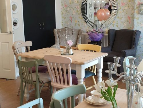 Farmhouse style tea room