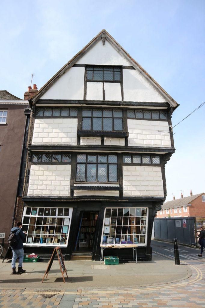 Wonky Bookshop in Canterbury