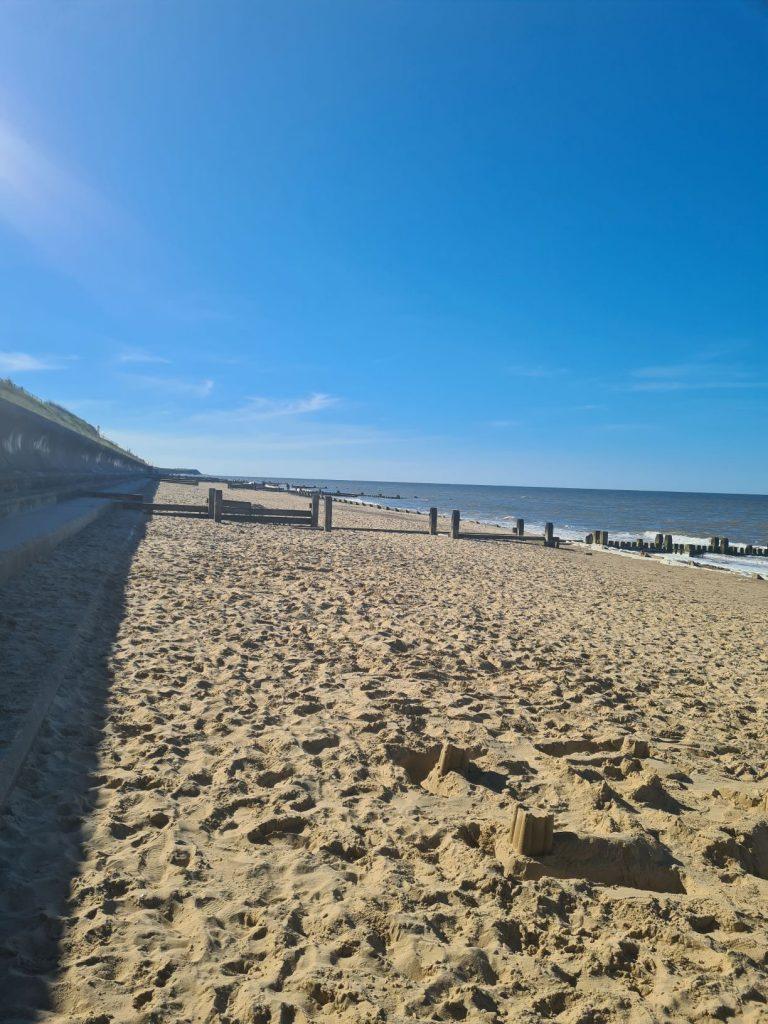 Cart Gap Beach, location for Norfolk weekend breaks