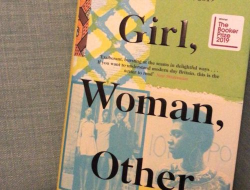 Hardback cover of Girl, Woman, Other by Bernadine Evaristo