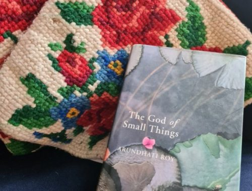 Cover of hardback The God of Small Things book