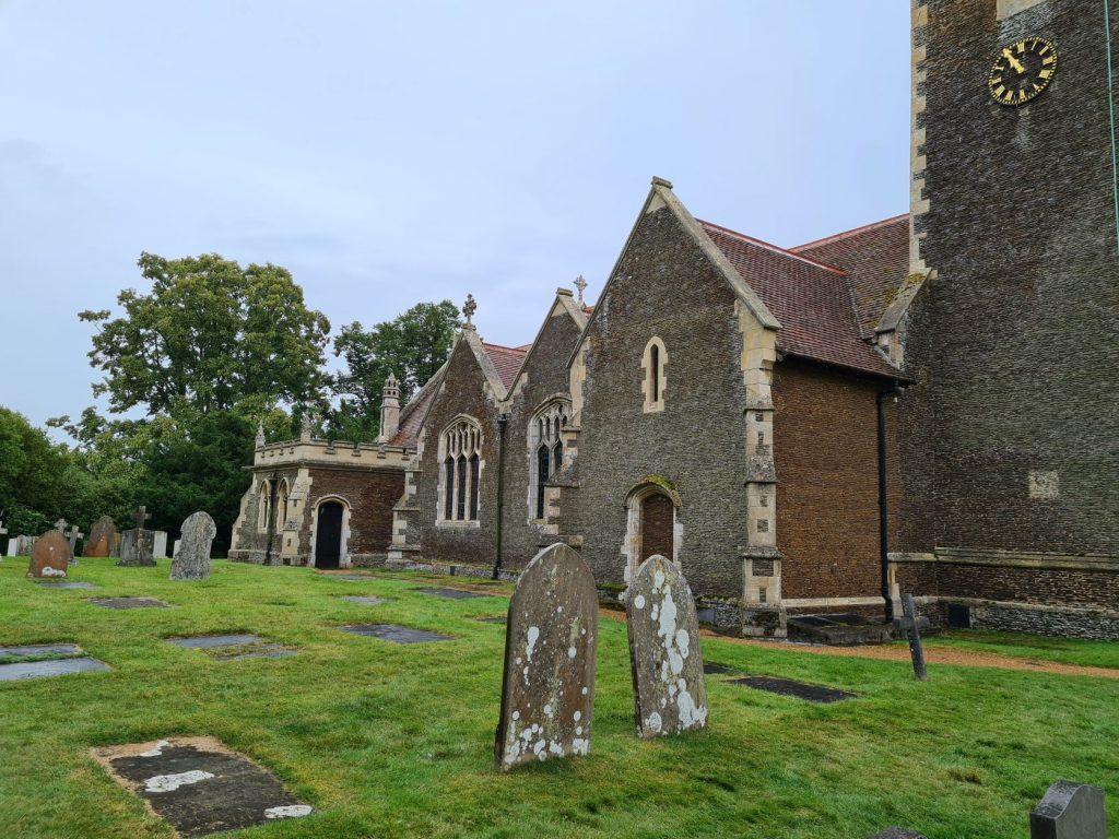 St Mary's Church in Sandringham Country Park estate