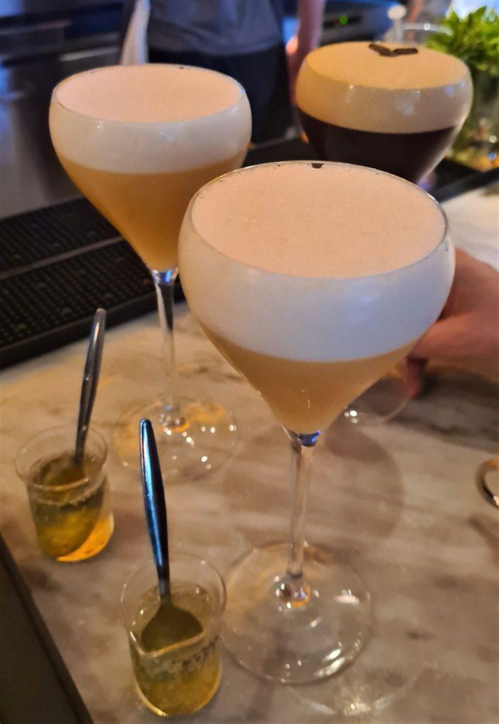 Martinis at The Alchemist Canary Warf bar