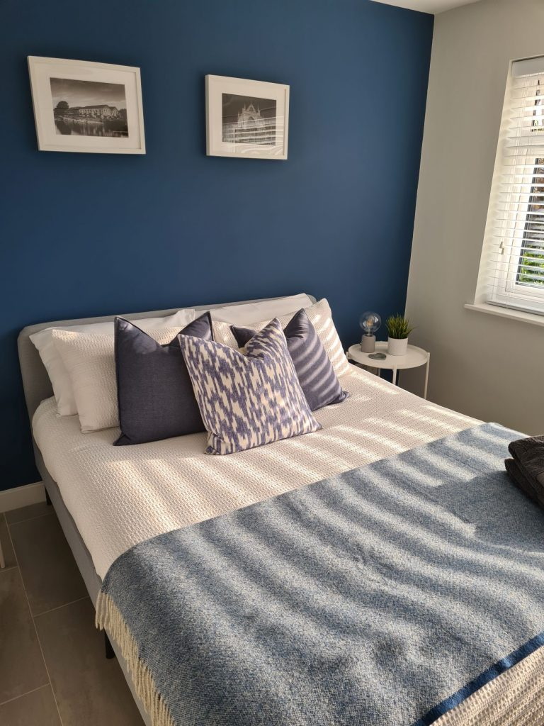 Bedroom at River Retreat Apartment Exeter